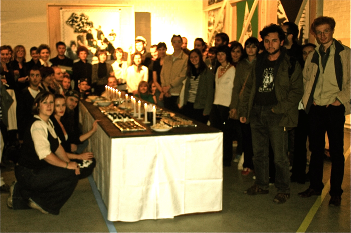 Crno bijeli banket/ Black and White Banquet, Galerija SC